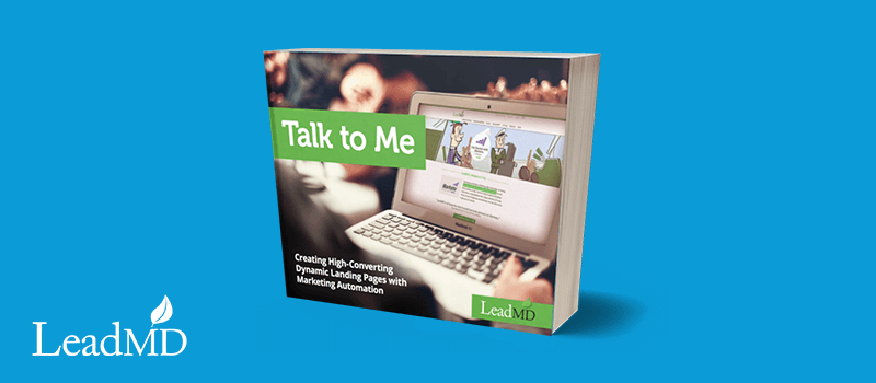 talk to me landing pages