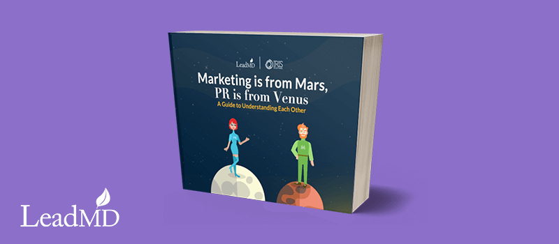 ebook marketing from mars, pr from venus
