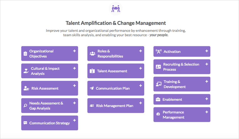 talent amplification