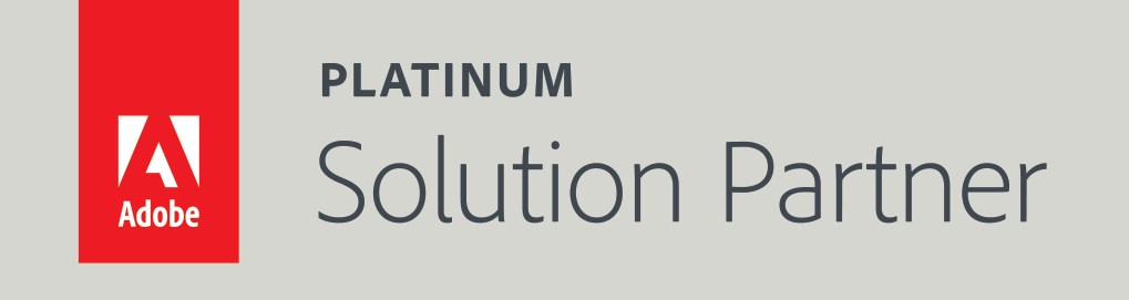 Adobe Platinum Solution Partner