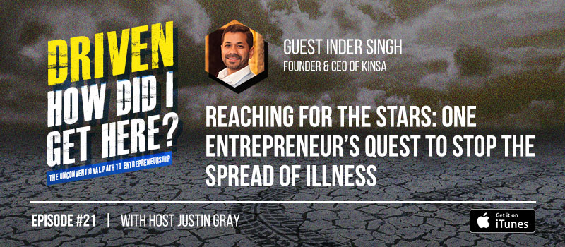 Driven Podcast Ep 21 - Inder Singh